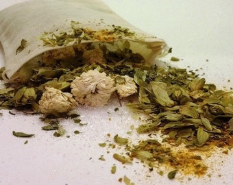 Dog Bath Crystals and Herbs