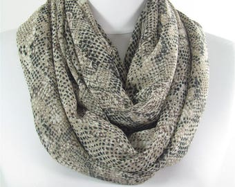 Snakeskin Scarf Shawl Infinity Scarf Circle Scarf Fall Winter Spring Summer Scarf Women Fashion Accessories 63