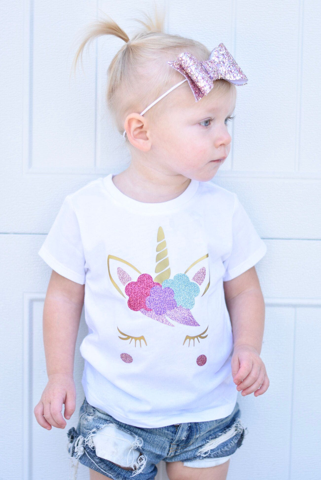 Girls unicorn Shirt Unicorn Shirt Unicorn birthday Shirt
