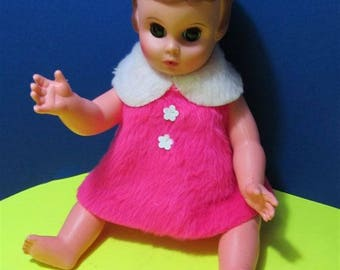 Vintage Doll Baby  Girl Toy Collector