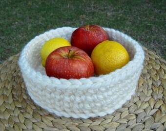 Handmade Super Chunky Crochet Basket