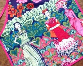 Frida Catrina Print Apron