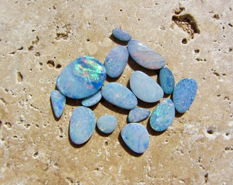 Natural Opal Doublets 15 stones