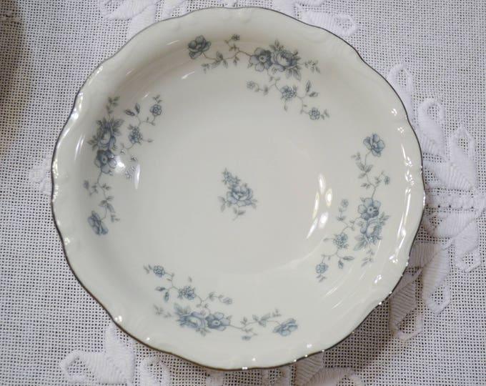 Vintage Haviland Blue Garland Fruit Bowl Set of 8 Blue Floral Bavaria Johann Haviland Replacement PanchosPorch