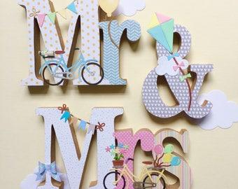 Mr & Mrs Wedding Decoration - Sale 40% 0ff