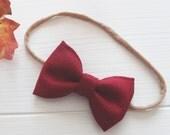 Redwood Baby Bow Headband...