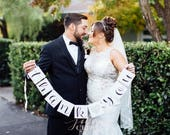 Thank you signs, Wedding Photos for thank you cards, thank you banners