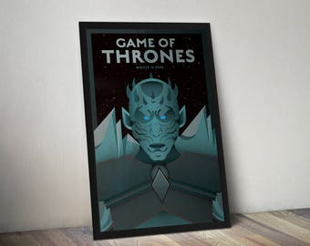 Game of Thrones The Night King Poster Print