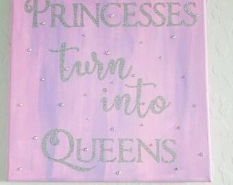 Queens - Pink & Purple Canvas