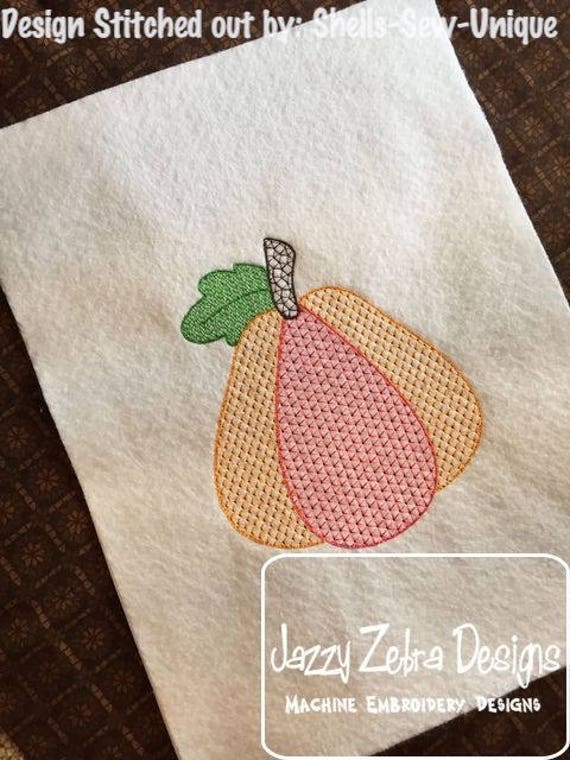 Pumpkin motif filled embroidery design - pumpkin embroidery design - motif embroidery design - halloween embroidery design - thanksgiving