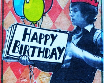 NEW! Ltd Edition Bob Dylan Birthday Card