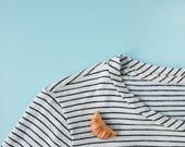 Croissant Brooch - Foodie gift - food brooch - food pin -  croissant pin - french food - funny food gift - cookie pin