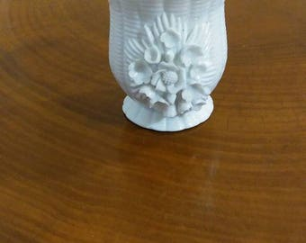 Mid Century Cigarette Cup, Fleurette by Yona, Floral, Votive Candle Holder
