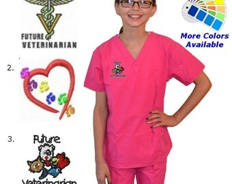 Kids Veterinarian Scrubs
