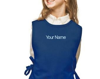 Personalized Royal Blue Cobbler Kids Apron