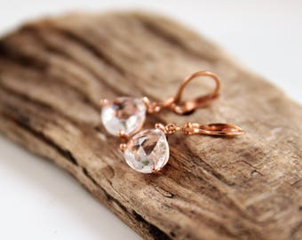 Earrings | Gold | Crystal | Goldfilled
