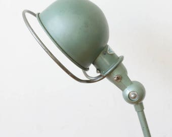 Jielde Industrial lamp, two arms - mid century lamp - vintage lighting - industrial lighting - floor lamp - floor light