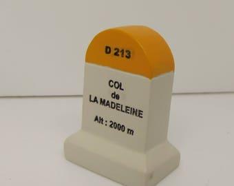 Col De La Madeleine Km Marker Milestone Tour de France Mountains