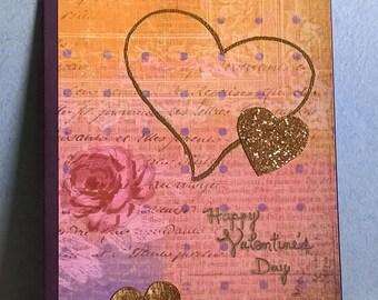 Valentine Card, Love Interest, Wife, Husband, Girlfriend, Boyfriend, Hand made