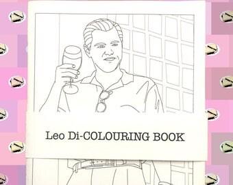 Leonardo DiCaprio Colouring Book