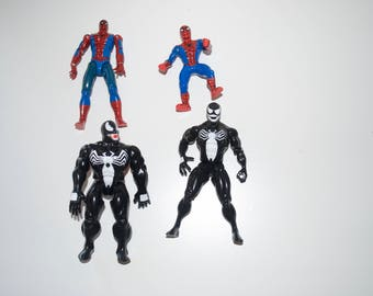 CHOOSE ONE: Spider-man or Venom Marvel Superheroes Toy Biz Action Figure