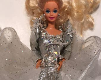 Holiday Barbie In Silver