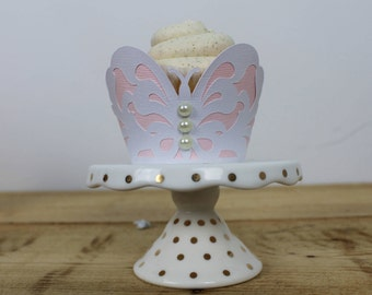 Butterfly cupcake wrapper - 12