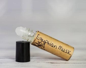 Roll On Perfume Oil - Egyptian Musk Perfume Oil - Natural Perfume Oil - Vegan Perfume Oil - Fragrance oil Perfume - Musk Perfume Oil -