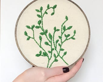 Embroidered Vines