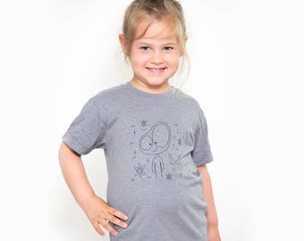 t-shirt unisex, toddler, clothing toddler, hipster toddler, kids clothing, toddler clothes, bio coton polyester, Extraterrestrial friend