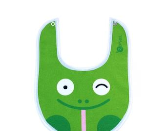 Green Frog Bib