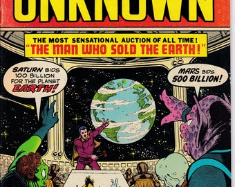 From Beyond The Unknown #25 - December 1973 - DC Comics - Grade Fine