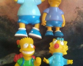 1990 Bart Simpson Toys, Bart Simpson Toys, Bart Simpson, Maggie Simpson Toy, Simpsons Collectibles,