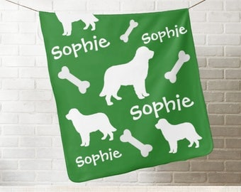 Labrador Retriever Dog Personalized Blanket - Add Name & Color