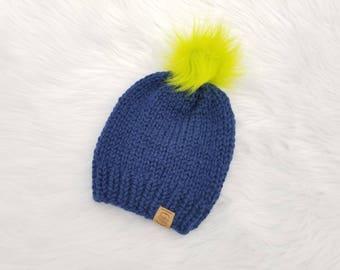 Knit Seahawks Beanies // Seattle Seahawks // Knit Seahawks // Woman's Seahawks Beanie // Seahawks Knit Beanie // Seahawks Christmas Gift