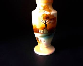 Vintage Noritake...Noritake Sugar Shaker...Tree in Meadow
