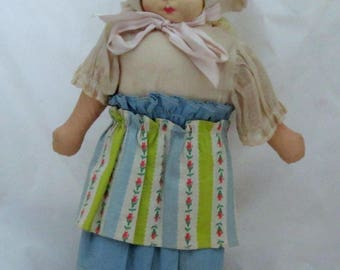 Vintage Hand Painted Dutch Doll