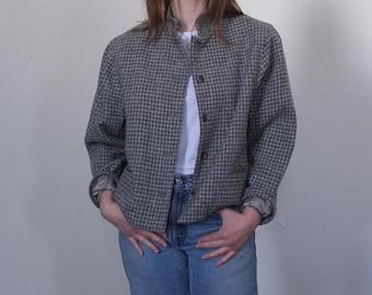 Grey Wool Boxy Blazer, size M
