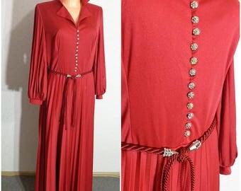 Vintage Women Black Dress Small-Medium Size