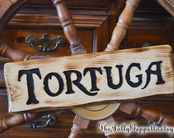 Tortuga Sign, Pirates of the Caribbean, Pirates Sign, Captain Jack Sparrow, Will Turner, Tortuga, Pirates of the Caribbean Sign, Pirates