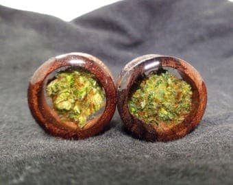 Organic Wood Cannabis Filled Plugs Weed Plugs Weed Gifts Weed Gifts  Boyfriend