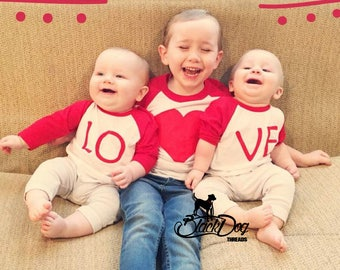 Valentine's Day, Valentines, Vday, Mommy & Me, Sibling Tees, Love Shirts, Family Shirts, Matching Tees,