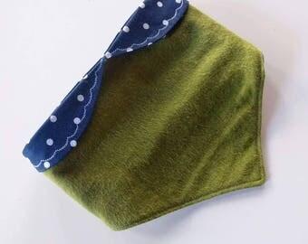 Peter Pan Collar Baby Bib - Boho Bib - Boho Chic - Boho Baby - Hipster Baby Bib - Drool Bib - First Birthday Gift - Baby Shower Gift
