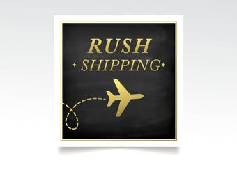 RUSH SHIPPING . Signage Only . Please use the RUSH Printing Listing for all Stationary . Message me for an estimate and exact timing
