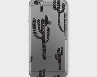CACTUS Iphone 7 Case Clear Iphone 7 Case Iphone 7 Clear Case Iphone 7 Clear Case With Design Iphone 7 Case Clear Cover Transparent For D4 v2