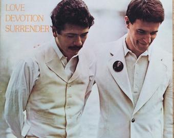 Carlos Santana & Mahavishnu John McLaughlin Love Devotion Surrender 1973 Original Vintage Vinyl Record Album LP