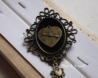 Cameo brooch love ouija