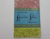 Vintage (1950s) cook book, 'How you can give Hawaiian Parties', by Patricia Collier (Dole Home Economist)