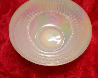 Federal Glass Moonglow Round Serving Bowl
