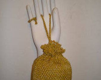 crochet handmade small handbag